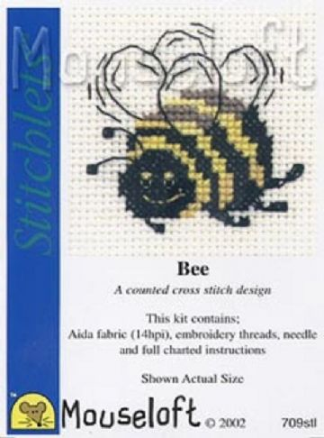 Mouseloft Stitchlets  Bee